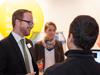 """""""Zum ersten Mal als teilnehmendes Unternehmen waren wir vom Wirtschaftsforum positiv überrascht. Das stimmungsvolle Ambiente der Wolkenburg, eine gute Organisation, sowohl quantitativ als auch qualitativ gute Gespräche an unserem Stand und dazu noch die Möglichkeit des Austausches unserer Alumni mit Studenten und Verantwortlichen der RFH Köln haben das Wirtschaftsforum zu einer aus unserer Sicht rundum gelungenen Veranstaltung gemacht"""", sagt Carsten Schütz, HR-Manager bei der Hydro Aluminium Rolled Products GmbH."""