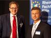 RFH-Absolvent Volker Wienand (BaFin) und Udo Hempe (HBK Consultancy)