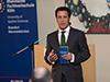 Eric Weik, Bürgermeister der Stadt Wermelskirchen, eröffnete das Symposium, zu dem die Stadt, das Berufskolleg Bergisch Land und die RFH Köln eingeladen hatten.