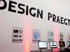 Im Foyer des Museum Ludwig gab es Projekte von Mediendesignstudierenden zu sehen