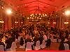 Der Festsaal der Wolkenburg bot auch in diesem Semester wieder den Rahmen für die Feierlichkeiten.