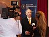 Ein Team von TV-EU Television Europe war ebenfalls vor Ort und holte den Referenten nach seinem Vortrag für ein Interview vor die Kamera, das es <a href='http://fernsehen-duesseldorf.tv/magazin/1_sehen_und_gesehen_werden/656_mr_dax___dirk_mueller_im_gespraech'>hier</a> zu sehen gibt.