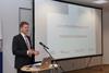 Das Symposium wird von der Hochschulleitung eröffnet (hier: Prof. Dr. Karl-Heinz-Brockmann, Vizepräsident des Fachbereichs Ingenieurwesen).