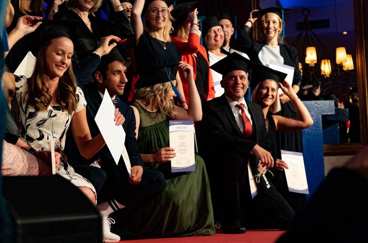 Herzliche Gratulation zum Studienabschluss!
