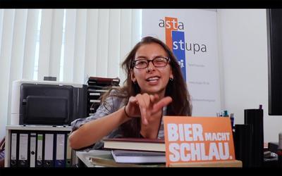 """Das Filmprojekt """"Raplament"""" für das Studierendenparlament (StuPa) macht Lust auf eine Mitarbeit beim STuPa."""
