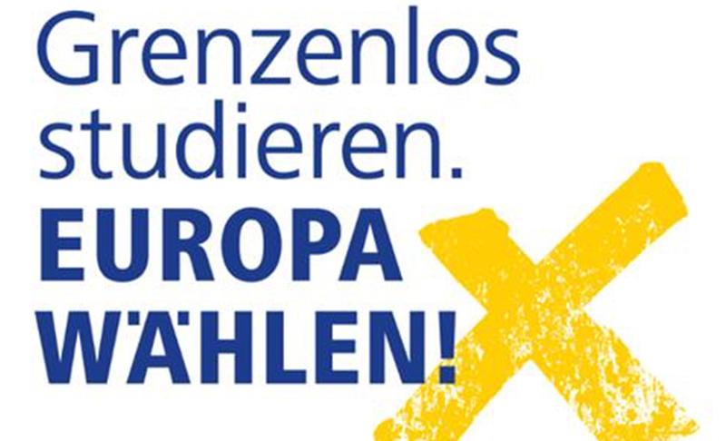 Grenzenlos studieren. Europa wählen!