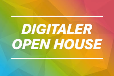 Digitaler Open House Tag